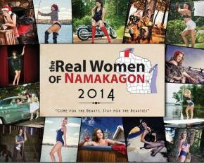 Northwoods Spotlight: Real Women of Namakagon Calendar – Insight from 2014 Miss October